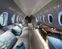 Luxury Private Jet Interior Travel the world with Private Jet Charter Charter a Jet with us Luxury Executive VIP Jetsetters Sunset Love Aviation Fly Plane Aircraft Sun H. Jets Privés De Luxe, Luxury Jets, Luxury Private Jets, Private Plane, Luxury Yachts, Avion Jet, Gulfstream G650, Private Jet Interior, Luxury Interior