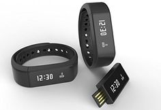 Black Smart Wireless Intelligent Convenient Stylish Wrist Wristband Pedometer Calorie Thermometer Smart Fitness Watch Bracelet black -- You can get additional details at the image link.(This is an Amazon affiliate link and I receive a commission for the sales)