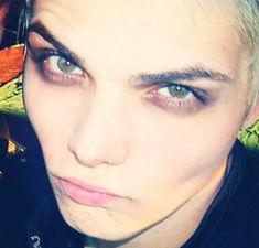 He wears makeup better than i do