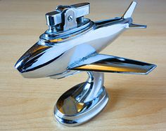 Vintage cigarette lighter airplane