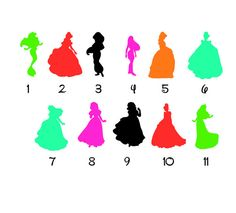 Snow White And Dwarfs Magic Band Decal Snow White Decal - Magic band vinyl decals