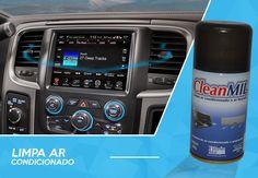 #Limpa #Ar Condicionado #Clean #Mil.   Deixe o #Ar do seu #carro ainda mais #limpo e #Perfumado com o #Limpa #Ar Condicionado #Clean #Mil.  Peças e Acessórios para seu carro-> MMParts.com.br