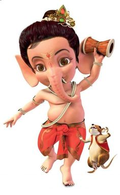 Amit Name 3d Wallpaper Download Ganesh Chaturthi Funny Cartoon Animated Images Pictures