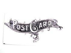 Post Card Stamp (No.5), Rubber Cling Mount Stamp - Perfect for paper crafts, fabrics, and more. $2,85, via Etsy.