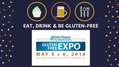 Gluten-free paradise is just around the corner! Dont wait in line get your ticket NOW. The first 500 people to arrive each day will receive a bag stuffed full of #glutenfree goodies and coupons. Celiac.org/expo2018 #celiacdisease #celiacdiseasefoundation #cdfexpo #glutenfreeisnotafad