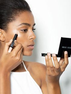 Bobbi Brown has launched new retouching products that fake flawless skin IRL and photos #NoFilterRequired.  Find out more about the Retouching Face Pencil and Retouching Wand, plus get Bobbi Brown's top tips for retouching with makeup.