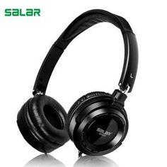 Salar EM520 DEEP BASS Headphones Earphones Gaming Headset 3.5mm Foldable Portable headphone for pc computer    #Headphones