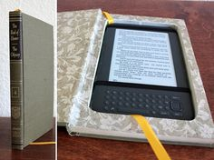 "Kindle 3 case ""Homer, The Odyssey""- recycled book by Ela's Idea, via Flickr"
