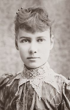 1890 - Nellie Bly; Journalist; worked for the New York World; she took an undercover assignment to investigate reports of brutality & neglect at Women's Lunatic Asylum, Blackwell's Island (now, Roosevelt Island) by straatis, via Flickr
