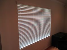 Horizontal Faux Wood Blinds. Are you looking for white blinds. We have blinds available in wood (smooth or textured) and faux wood (smooth or textured). Recent installation in Santa, Ana California.  Now is the time to update the interior of your home. We will remove and haul away your old interior window treatments and install the new. We can even offer to measure the product and sell to you uninstalled if you desire. You make the call.