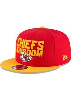 online retailer 8734c bfd53 New Era Kansas City Chiefs Red 2018 Spotlight Draft 9FIFTY Youth Snapback  Hat - 5906732