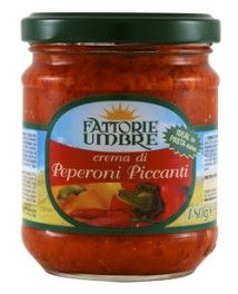 Crema di Peperoni Piccanti gr 180