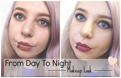 From Day To Night Makeup Look. - Beauty-Blush