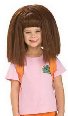 OFF - Dora Wig : Shoulder length straight brown wig. One size fits most. A wig cap is a recommended pairing as it can control hair under wigs (especially longer hair)or spirit gum adhesive can be used to secure the wig to your head and remover u