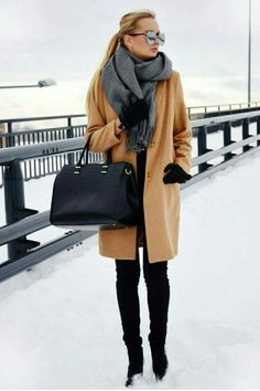 winter outfits snow 27 Cute Winter Outfits to Wear - winteroutfits Winter Outfits For Work, Winter Outfits Women, Winter Fashion Outfits, Autumn Winter Fashion, Fall Outfits, Outfit Winter, Winter Wear, Fashion 2017, Mens Winter