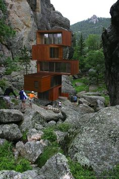 This unique house is made from shipping containers!