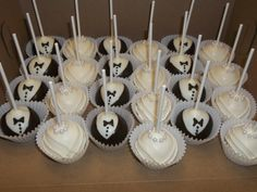 Wedding Caketini Truffles - Cake Pops