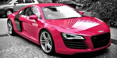 Breast Cancer Awareness Month: Carhoots Pink Supercar Special #AudiR8