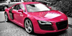 Breast Cancer Awareness Month: Carhoots Pink Supercar Special #AudiR8