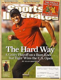 Tiger Woods he looks like he is going to poop lol