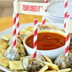 A light coating of cracker crumbs adds extra flavor and a slightly, crisp crust to these appetizer meatballs. Serve them with your choice of sauces.