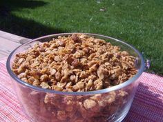 20 Minute Honey Granola - Easy
