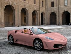 Dusty Rose Pink Ferrari!!!