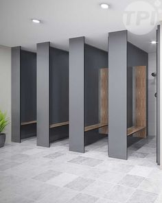 Shower – Full Height (FH-S) new – Toilet Partitions Industries – Wet area partitions – Cubicles, Showers & Urinals Wc Public, Public Shower, Shower Seat, Shower Floor, Shower Stalls, Toilette Design, Restroom Design, Public Bathrooms, Shower Cubicles