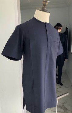 Deji and Kola African Shirts For Men, African Dresses Men, African Attire For Men, African Clothing For Men, African Wear, Nigerian Men Fashion, African Men Fashion, Usa Apparel, Native Wears