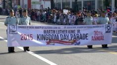 Los Angeles King Day Parade | The 30th annual Martin Luther King, Jr. Kingdom Day Parade kicks off ...