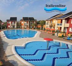 Dovolenka pri mori, Taliansko, Jesolo Green Village, Lido di Jesolo. Villaggio s bazénom, novo vybavené apartmány s klimatizáciou, práčkou, umývačkou, mikrovlnnou rúrou, fénom, veľkou chladničkou s mrazničkou, TV LED SAT a wi-fi. Tour Operator, Wi Fi, Tours, Italy, Green, Outdoor Decor, Italia