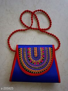 Handbags Fancy Silk Hand Bags Material: Silk