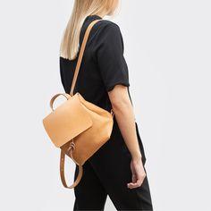 Minimalistic British backpacks by Alfie Douglas