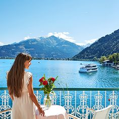 Genießen Sie traumhafte Aussichten aus den GRAND HOTEL Zimmern Lily Pulitzer, Rooms, Double Room, Vacation, Bedrooms