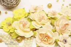 TWÓRCZY POKOIK by BBart: Nowe kwiaty z foamiranu- DT 14 CRAFT BAR