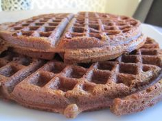 Stacey Deering: Gingerbread Waffles