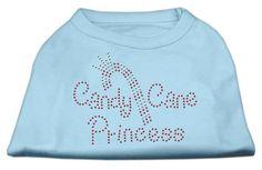 Candy Cane Princess Shirt Baby Blue XL (16)