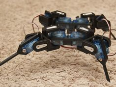 Mini Quadruped - optimized for 9G servos by TheCase - Thingiverse