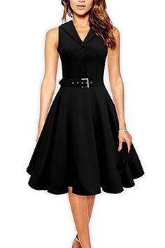 Black Butterfly 'Luna' Retro Clarity 50's Dress