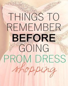 prom dress shopping tips: because it's not worth the stress!