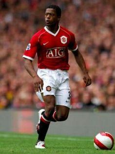 Patrice Evra of Man Utd in 2007.