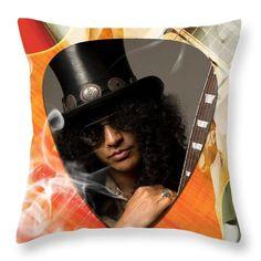 Slash Throw Pillow featuring the mixed media Slash Art by Marvin Blaine