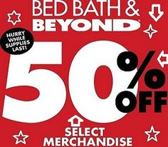 Buy Bed Bath And Beyond Coupon