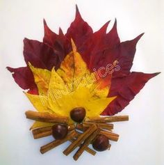 Mauriquices: Fogueira de São Martinho Autumn Leaves Craft, Autumn Crafts, Nature Crafts, Art Nature, Leaf Crafts, Diy And Crafts, Diy For Kids, Crafts For Kids, Pressed Flower Art