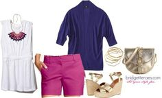 Colored Shorts Outfits