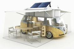 Solar Hybrid VW Westfalia Camper