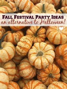 Fall Festival Party