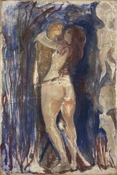 """"""" La morte e la vita, 1894 Edvard Munch """""""