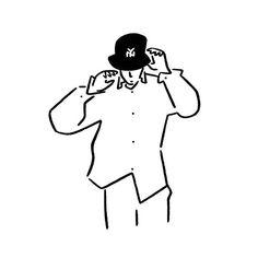 Yu NagabaさんはInstagramを利用しています:「Boy. #boy #yunagaba #kaerusensei #長場雄」 Minimalist Drawing, Minimalist Art, Cartoon Theories, Anime Crying, Cute Love Pictures, Pretty Drawings, Simple Cartoon, Baby Drawing, Aesthetic Drawing