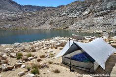 Hyperlite Mountain Gear Echo II Shelter (2-person tent that only weighs 26 oz!!)